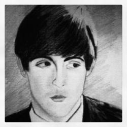 Young Paul McCartney