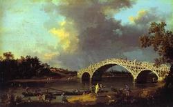A View of Walton Bridge