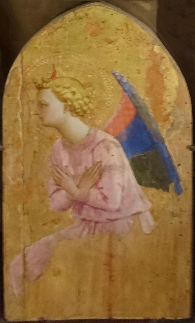 Adoring Angel, Looking Left