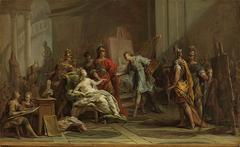 Alexandre, Apelle et Campaspe