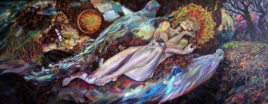 Ангел сна между мирами / Angel sleep between worlds