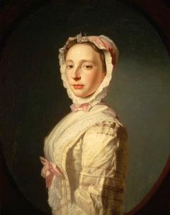 Anne Bayne, Mrs Allan Ramsay, d. 1743. Wife of the artist Allan Ramsay