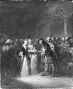 Anno 1758. De gouvernante verschijnt voor de laatste maal in de vergadering der Staten-Generaal