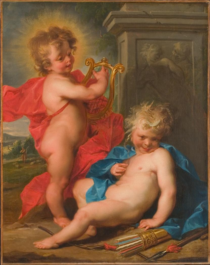 Apollo en Diana