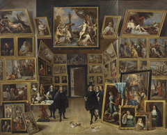 Archduke Leopold Wilhelm in his Gallery