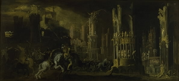 Architectural Fantasy with the Conversion of Saul (Saint Paul)