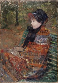 Automne, portrait de Lydia Cassatt