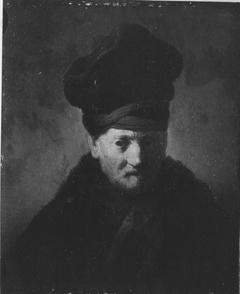 Bildnis eines alten Mannes (Kopie nach Rembrandt)