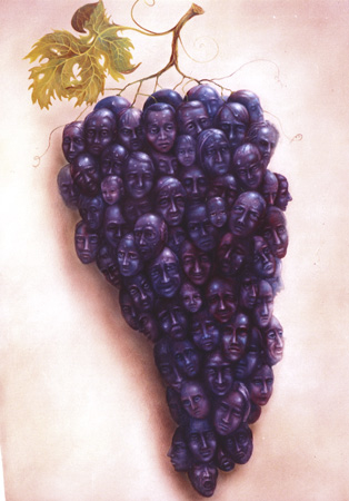 Bunch of grapes I