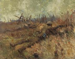Canadian Snipers, Beaurain-en-Artois