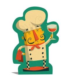 Chef Character - 'Rick'