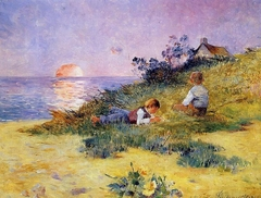 Children on a Dune
