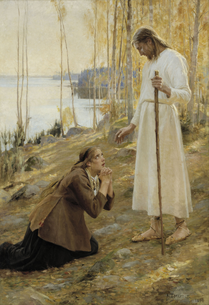 Christ and Mary Magdalene, a Finnish Legend