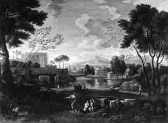 Classical Landscape with the Vatican Belvedere