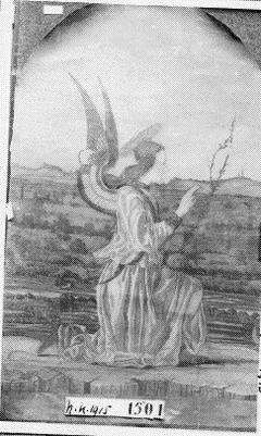 De engel van de annunciatie