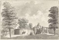 De Leidse Poort te Haarlem