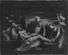 Die Beweinung Christi (?)