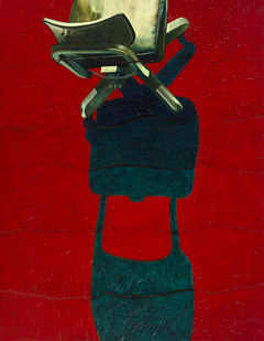 Empty Chair Red