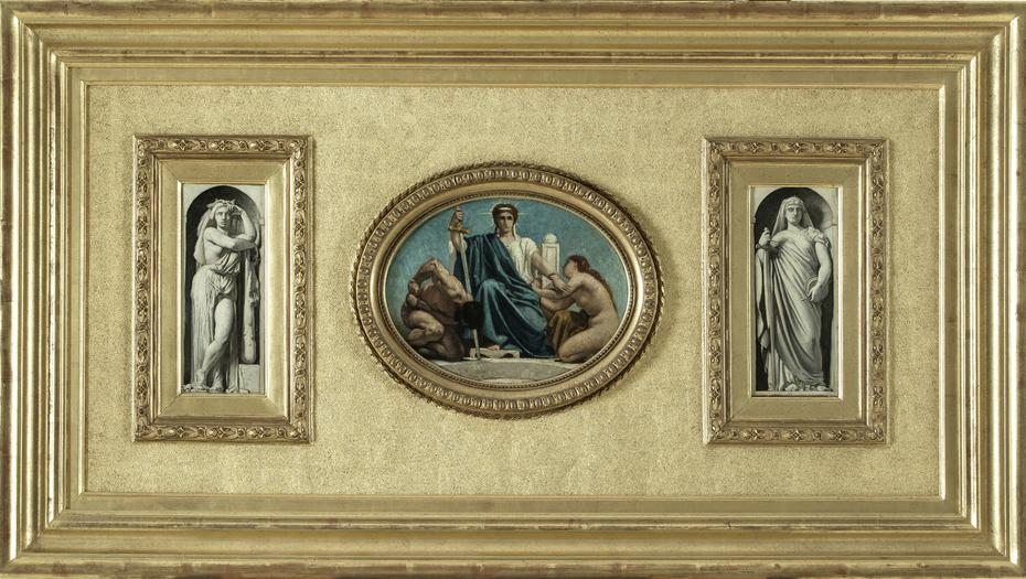 Esquisse pour le Palais de Justice de Paris : La Force