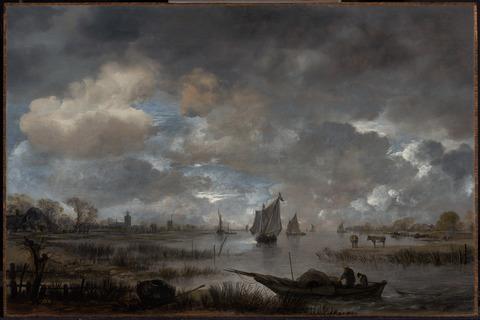 Estuary at Twilight