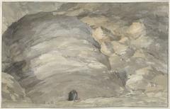 Exterieur van grot Santa Maria Capella