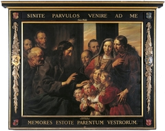 Family Portrait of Braems-Van der Laen with Christ Blessing the Children