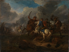 Fight between Horsemen