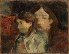 Figures in an Interior [formerly: Vision d' artiste OR Vison of the Artist: Self-Portrait with Son)
