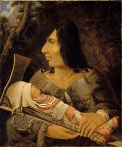 Flathead woman with child