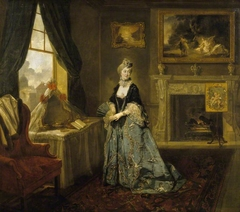 Frances Barton, Mrs Abington (1737-1815) as the Widow Bellmour in Arthur Murphy's 'The Way to Keep Him' (1727-1805)