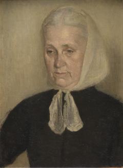 Frederikke Amalie Hammershøi, f. Rentzmann, kunstnerens moder