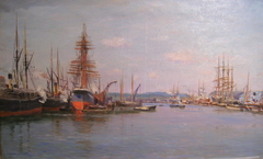 From Rouen harbor