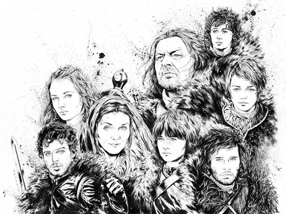 Game of Thrones - The Stark Family