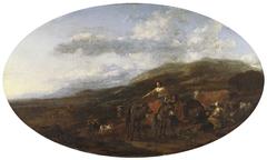 Gipsies and their Flocks