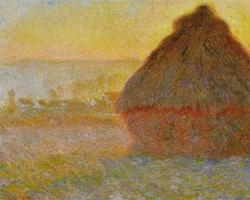 Grainstack (Sunset)