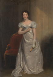 """Harriet Smithson as Miss Dorillon, in """"Wives as They Were, and Maids as They Are"""" by Elizabeth Inchbald"""