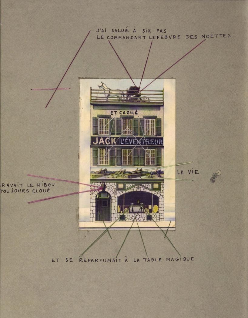I Saluted at Six Paces Commandant Lefebvre des Noëttes - Poem Object