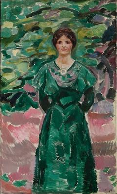 Ingeborg in Green