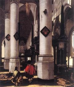 Innenansicht der Nieuwe Kerk in Delft