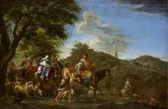 Jacob Fleeing from Laban