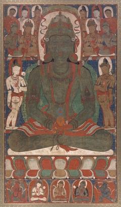 Karma Amitayus, From a Mandala of the Ninefold Amitayus