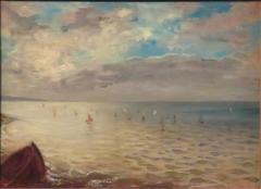 La Mer vue des hauteurs de Dieppe