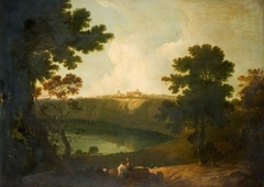 Lake Albano And Castel Gandolfo