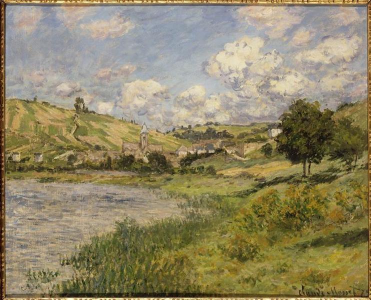 Landscape. Vétheuil
