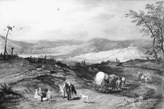 Landscape with a Road Leading Past a Place of Execution