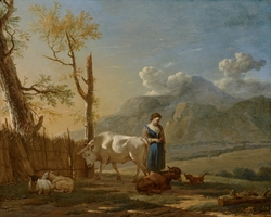 Landscape with a Shepherdess