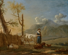 Landscape with a Shepherdess