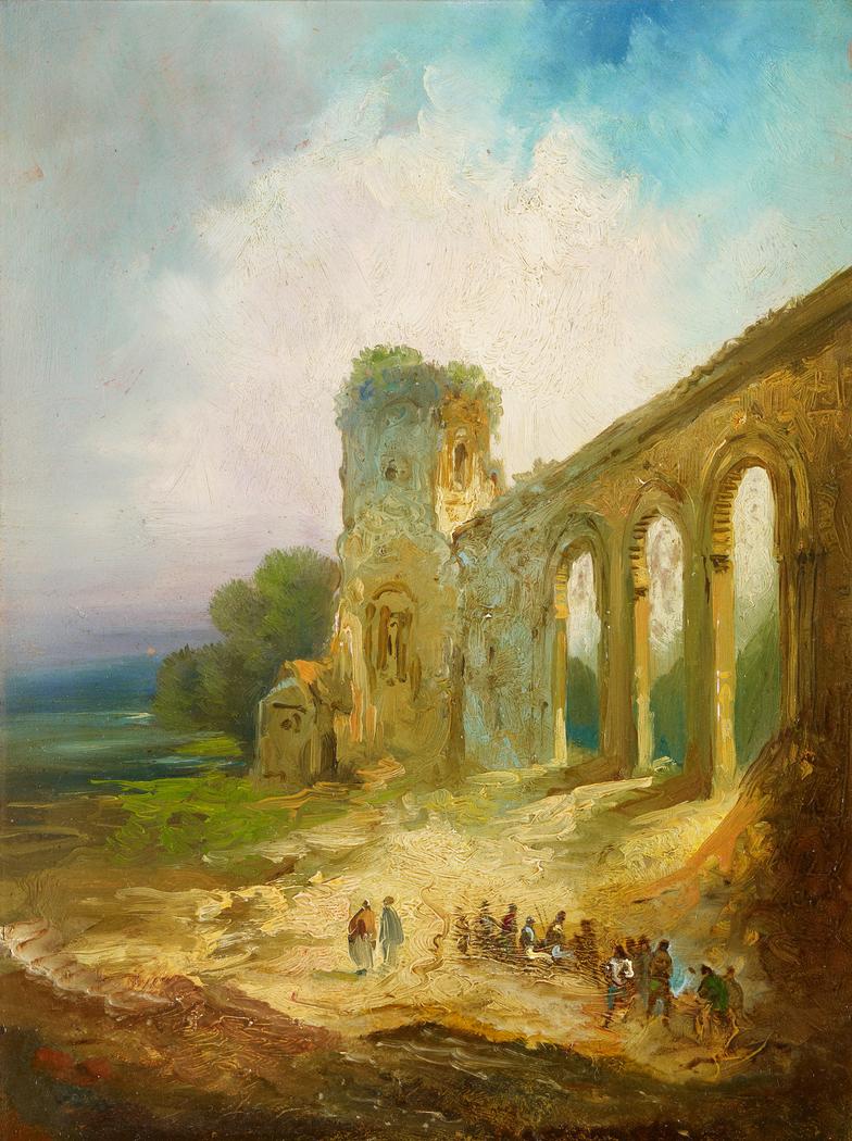 Landscape with Aqueduct