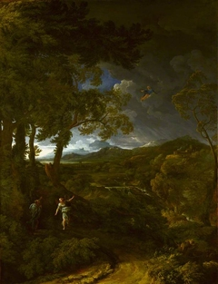 Landscape with Elijah and the Angel