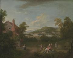 Landscape with Farmworker